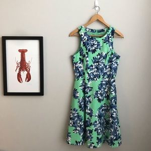 Floral-print J. Crew Cocktail Dress